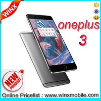 2016 Bestselling Oneplus 3 Mobile Phone 6GB RAM 64GB ROM 16.0MP 5.5inch Silved/ Black/ Gold