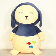 super soft material plush puppy toy/soft toys raw materials/custom pp cotton animal dolls