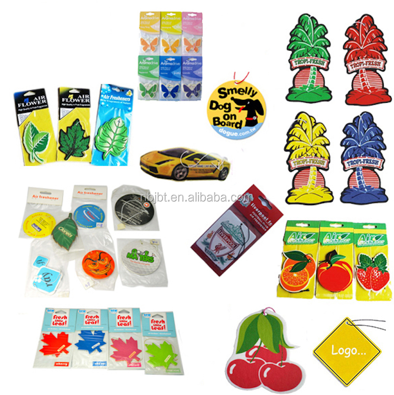 Top Quality Cheap Custom Hanging Paper Car Air Freshener