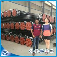 14inch sch140 black seamless carbon steel pipe with pe coating