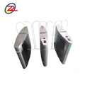 High speed automatic full height flap turnstile security sliding gate