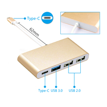 OEM 4 In 1 Multiport USB 3.1 Type-C to USB 3.0 + USB 2.0+ Type C Adapter Converter for New macbook