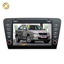 For Skoda OCTAVIA 2014 touch screen dvd player 2 din 7 inch car dvd player with auto radio gps navigation bluetooth