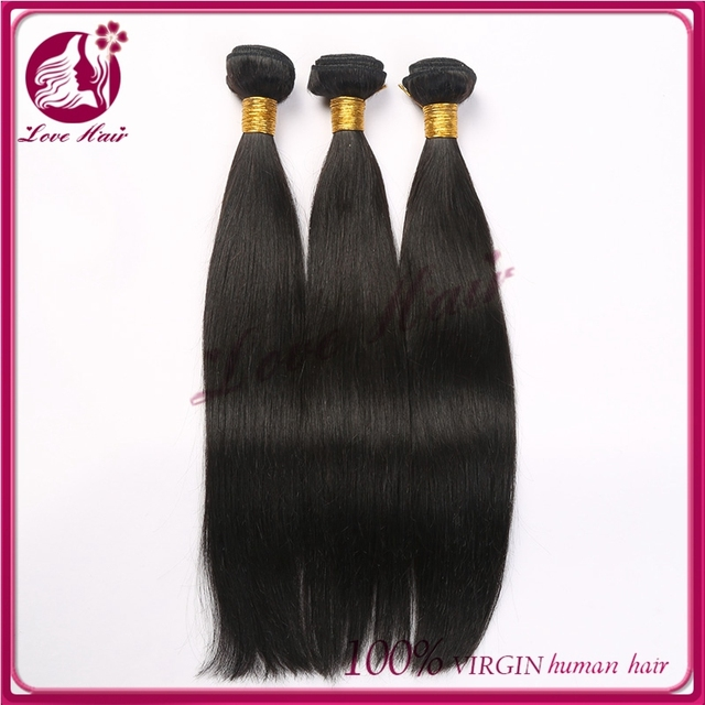2015 new arrival 14inch color #2 natural brown peruvian hair weaving