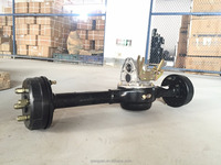 High Loading 1500w Semi Suspended Rear Axle for three wheels motor tricycle