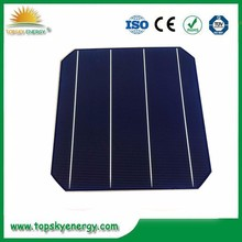 "19.1%-19.9% 4.5w-4.7w cheap stock wholesale prices for 6"" inch 4BB high efficiency mono solar cell for R&D made in Taiwan"