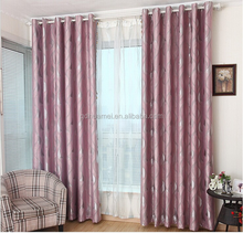 Flame Retardant Blackout Hotel Curtain/ Drapery window curtains blinds