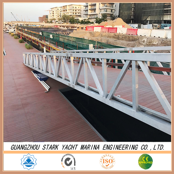 Decking board / portable stage platform / gangway for marine supplies