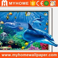 children room cartoon design custom decoration wall wallpaper mural