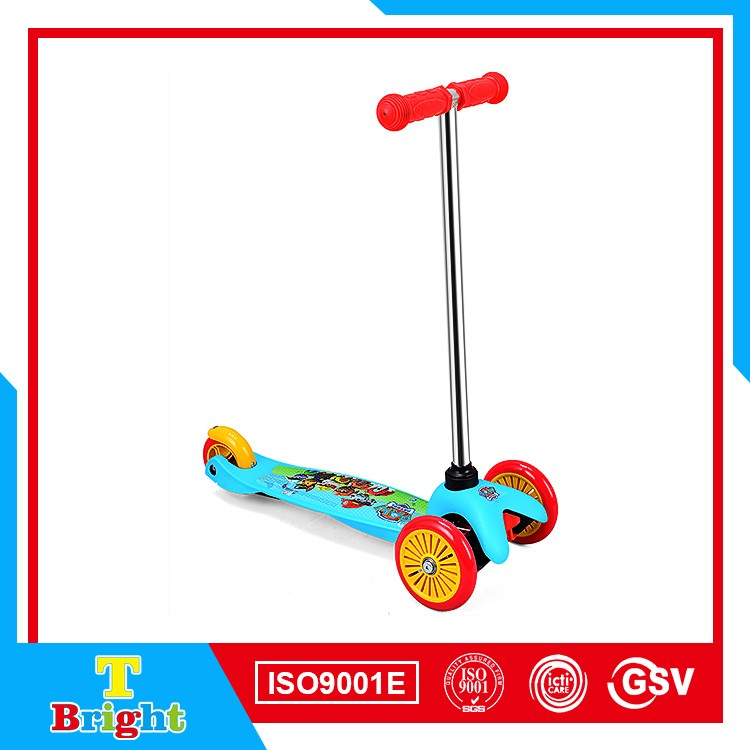 Manufactures directly 3 wheels swing scooter for children