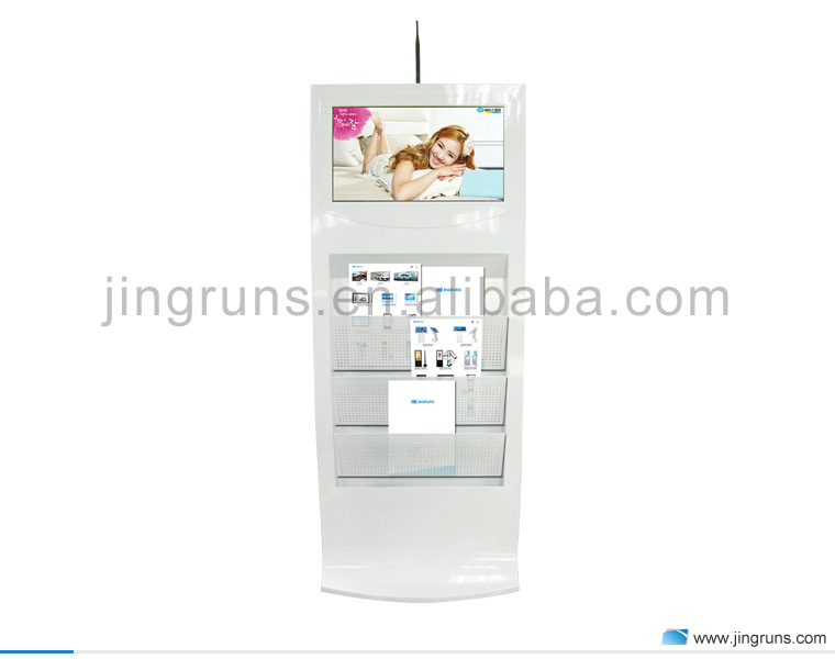 "21.5"" Public Touch Kiosks Booth Display"