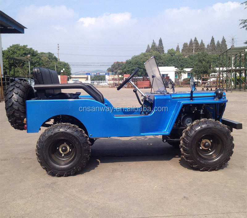 Best Price 125cc Petrol mini jeep body from China