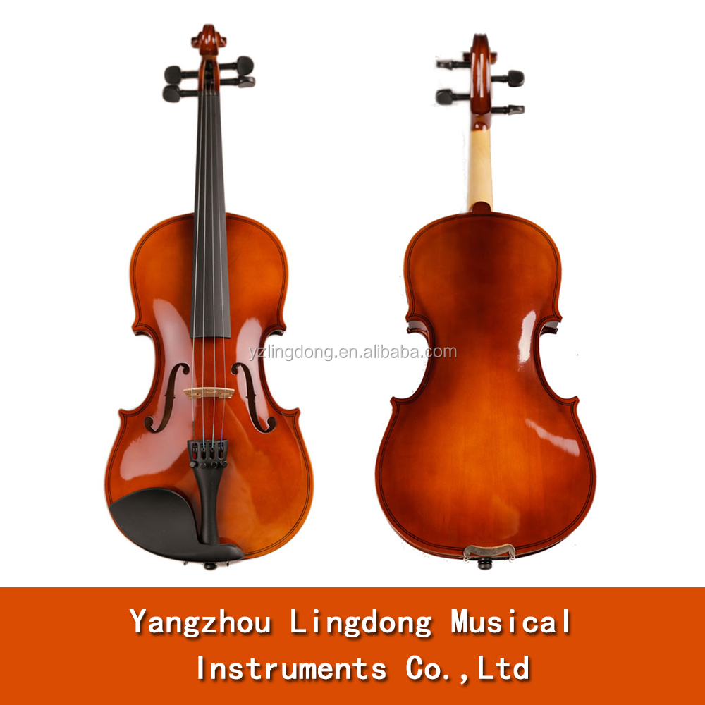 top selling transparent basswood violin