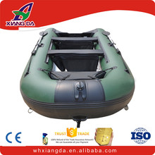racing soft pvc waterproof glued inflatable pvc boat