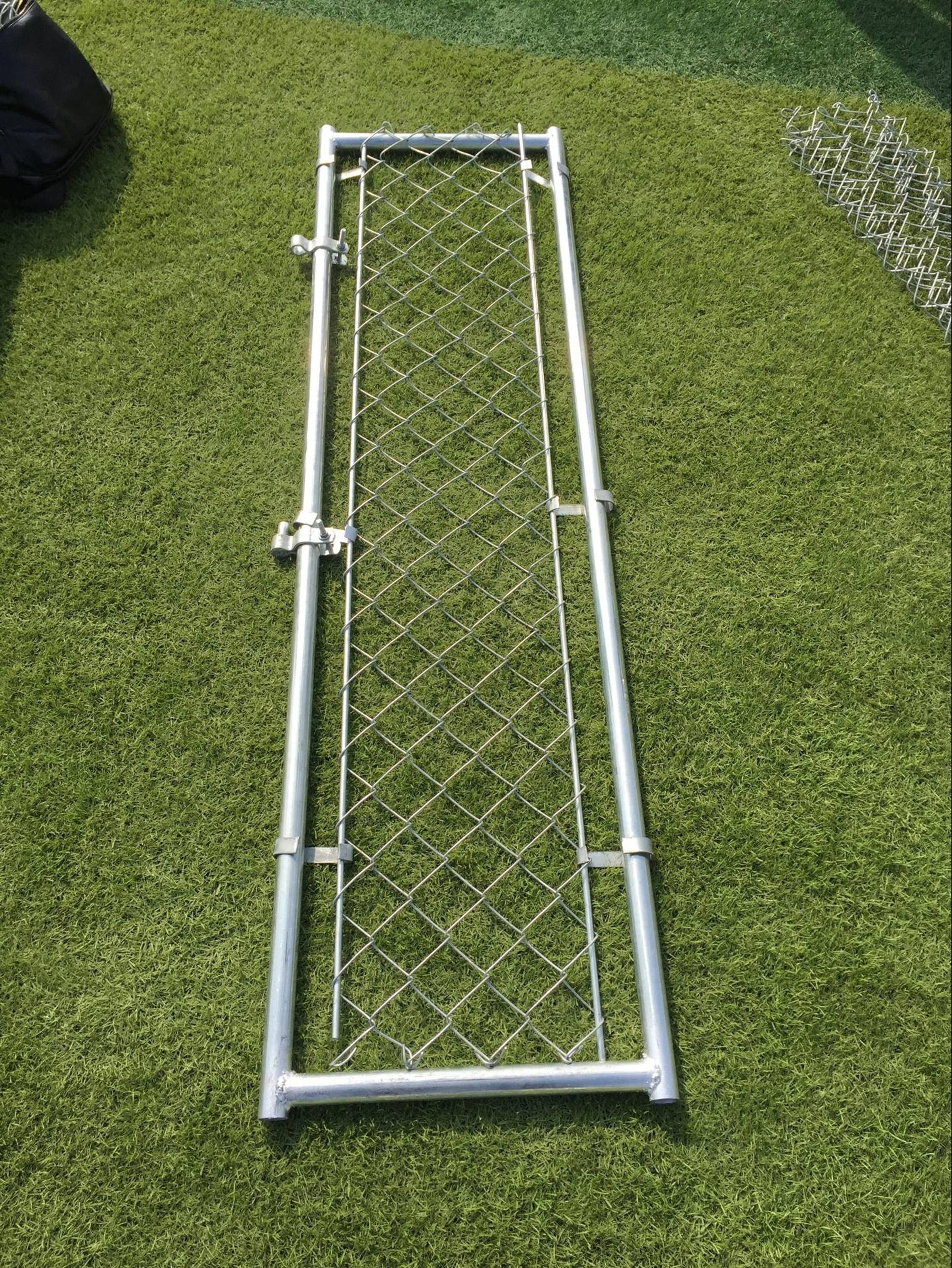 10ft * 10ft * 6 ft Galvanized Outdoor Dog Kennels