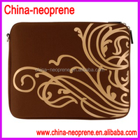 Flower Printing Neoprene Laptop Sleeve