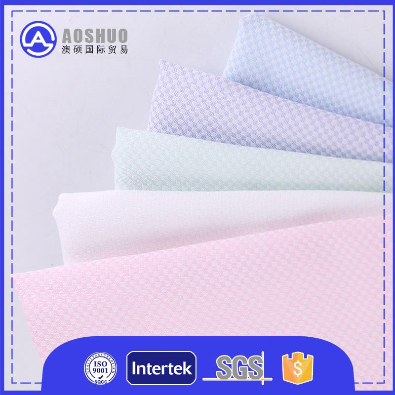 Polyester 85 15 100*200cm fabrics men for saleforwarp knitting