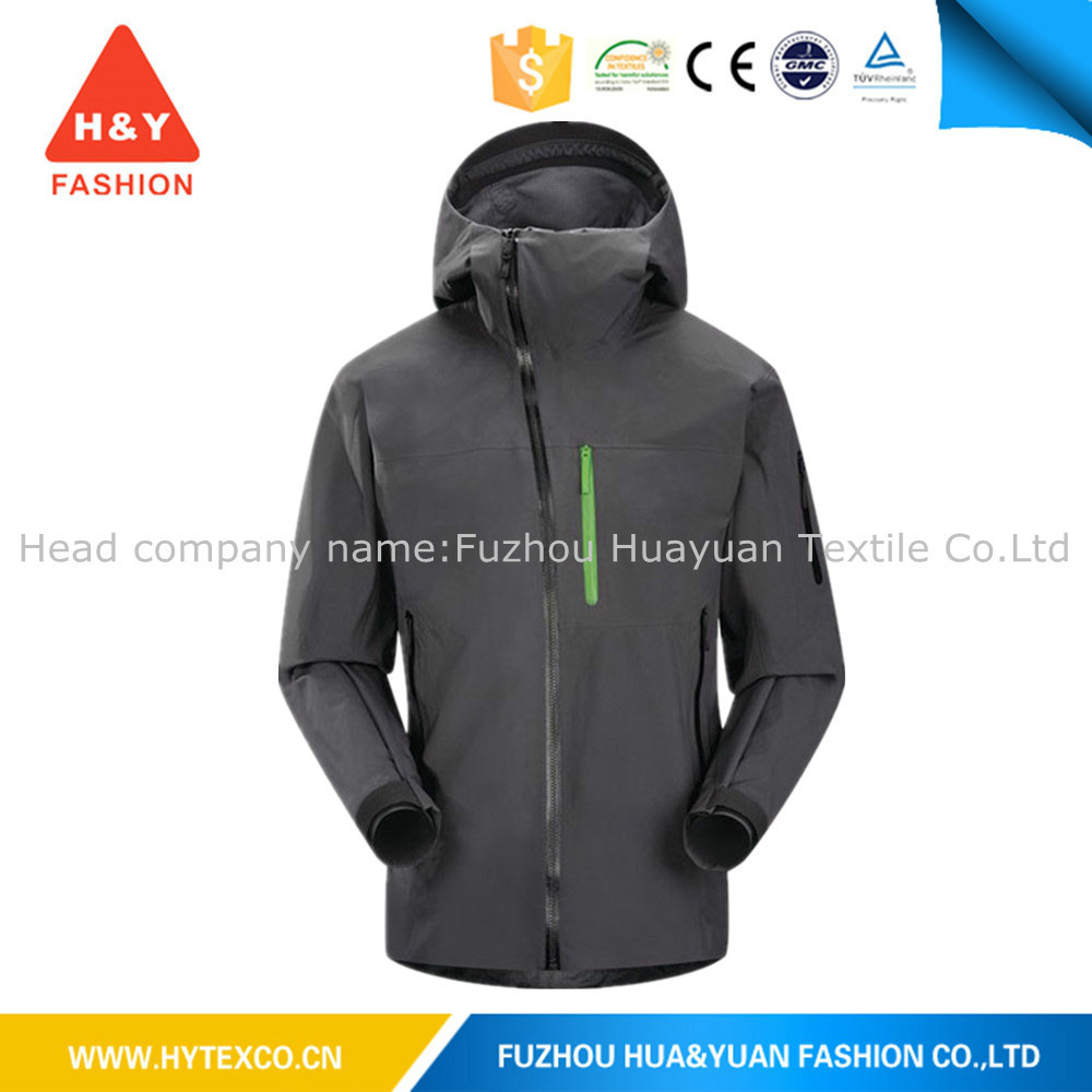 2015 High quality varsity outdoor waterproof warm polyester winter jacket riding jacket---7 years alibaba experience