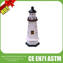 nautical lighthouse ,wooden lighthouse model,wooden lighthouse decoration