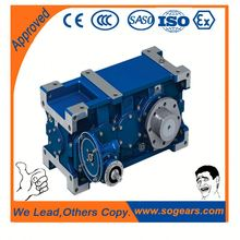 Cement mixer gear oem industry helical gear reducer