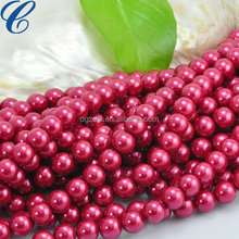 Professional custom and wholesale Red south sea shell pearl beads loose pearl