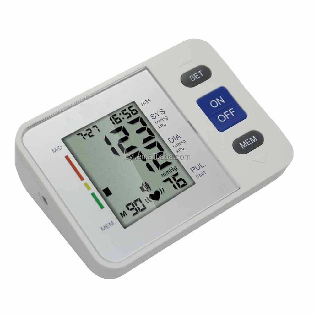 2016 arm type best selling blood pressure monitor exported to Europe US