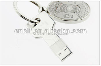 Wholesale! Metal key 2GB / 4GB / 8GB / 16GB / 32GB USB metal key / Promotional USB flash drive / USB Key flash memory