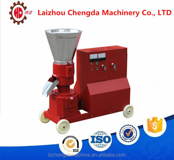 KL200C 7.5KW flat die chicken/ pig feed making machine