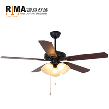 dining room home use remote control fancy 220v ceiling fan with light