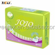 China Good Supplier High Absorbent Cotton Soft Lady Sanitary Napkin/Pads