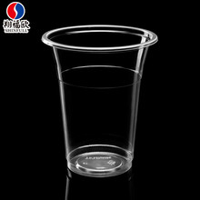 SGS certified high quality disposable PP plastic beverage pla milk cup 400ml party plastic cup