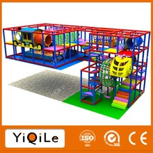 YIQILE children indoor playground structure kids play center made in China