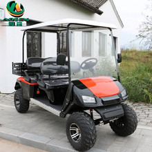 Fashion Off Road 4 Seater Golf Carts Electric Powered