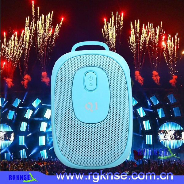 2016 good product with the fashionable design style bluetooth Speaker portable music mini bluetooth FM/USB/SD Iput/US speaker