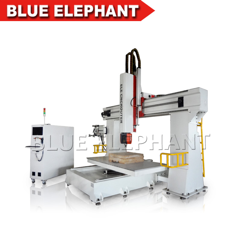 OSAI controller 5-axis cnc machinery / cnc router machine for wood mould