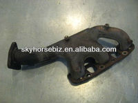 Ductile Iron ( SG Iron ) / Grey Iron Cast OEM Flexible 6 Exhausted Manifold Pipe