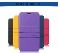 2014 Factory price PU leather phone case cover for samsung galaxy note 3