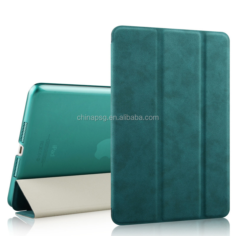 Stand Leather Case For ipad mini 1 / 2 3 Smart Back Cover for apple ipad Mini 2