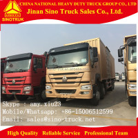 China best price 371hp 30ton 40ton cargo truck/van truck/lorry