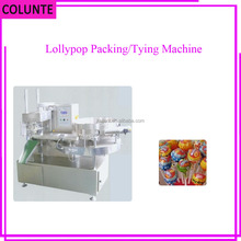 Henan Colunte Lollipop Candy Bunch Wrapping Packing Machine
