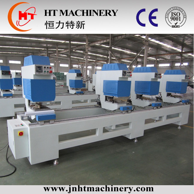 upvc window making machine for welding pvc window/Single head welding machine / PVC window fabrication line