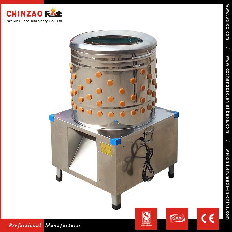 CHINZAO Chinses Company Supply 201 Stainless Steel Fully Auto Slaughtering Equipment Chicken Hair Removal Machine
