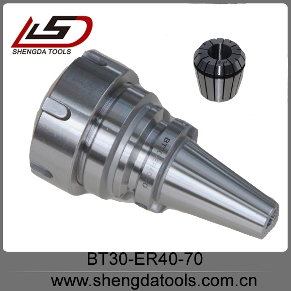 Lathe collet chuck balance BT30-ER40 tool holder with high precision collet