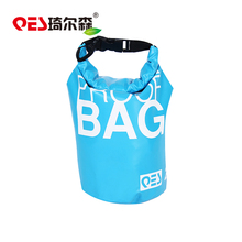 2017 Top quality beach drifting mountaineering camping sport PVC tarpaulin adjustable shoulder strap waterproof dry bag