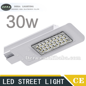 30w LED street light CE RoHS NEW MODEL IP67 Aluminium 130lm/w