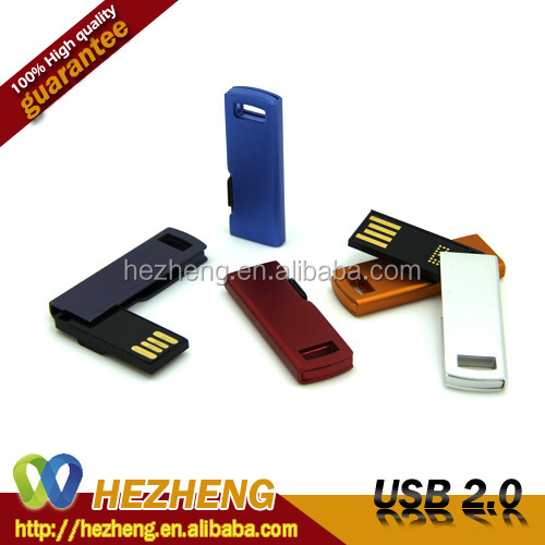Distributors Wholesale 4GB Swivel USB Flash Drive 2.0