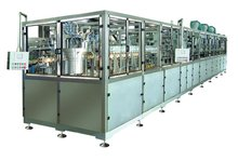 plastic bottle infusion solution blowing,washing,filling and sealing monoblock machine