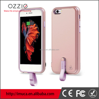 OZZIE Ultra thin mobile phone cover for iphone 6s external power charger