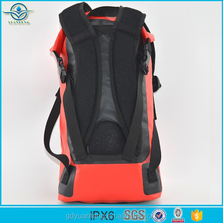 Outdoor Sports Dry Sack New Style Waterproof Bag Ocean Backpack With Two Shoulder Straps