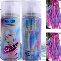 Magic one-time hair dye Color spray Magic multi-color dyeing cream